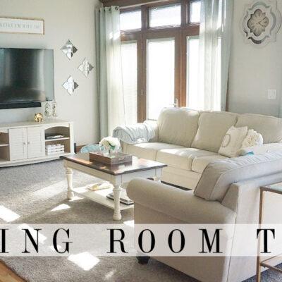 Foyer & Living Room Tour | End of Summer 2016
