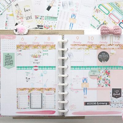 Planner Society January Kit