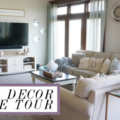 Home Tour – Fall Decor 2017