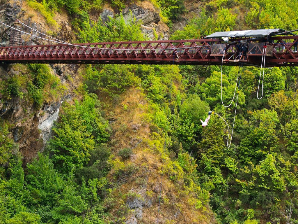 kawarau gorge bridge