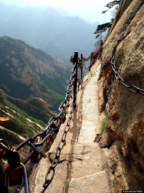 world's scariest hike