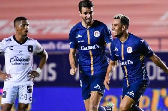 San Luis vence al Querétaro con elegante gol de Barrera