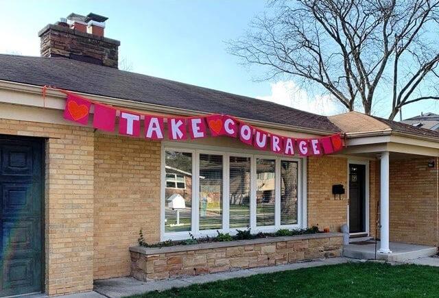 Skokie Spirit House Sign