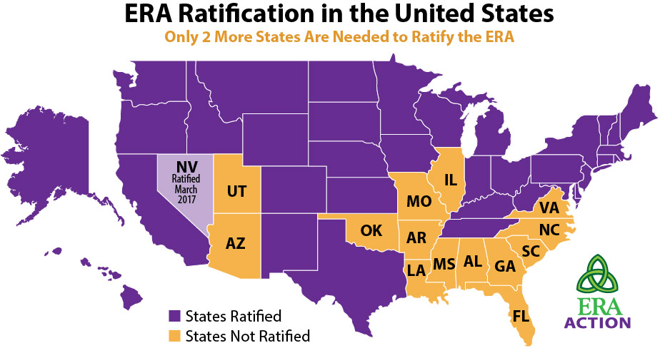 Ratified States Map