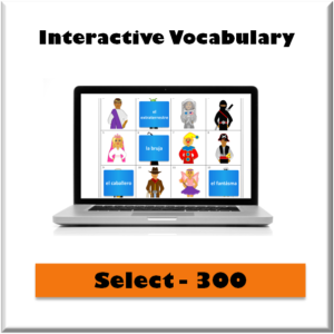 spanish scholars select 300 interactive vocabulary