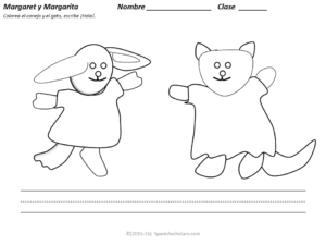 Margaret and Margarita worksheet
