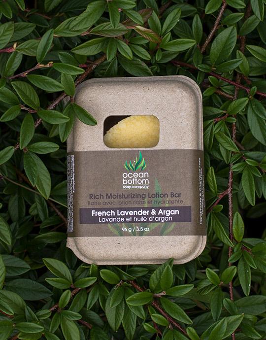 French Lavender & Argan Lotion Bar