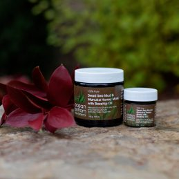 Dead Sea Mud & Manuka Honey Mask with Rosehip Oil