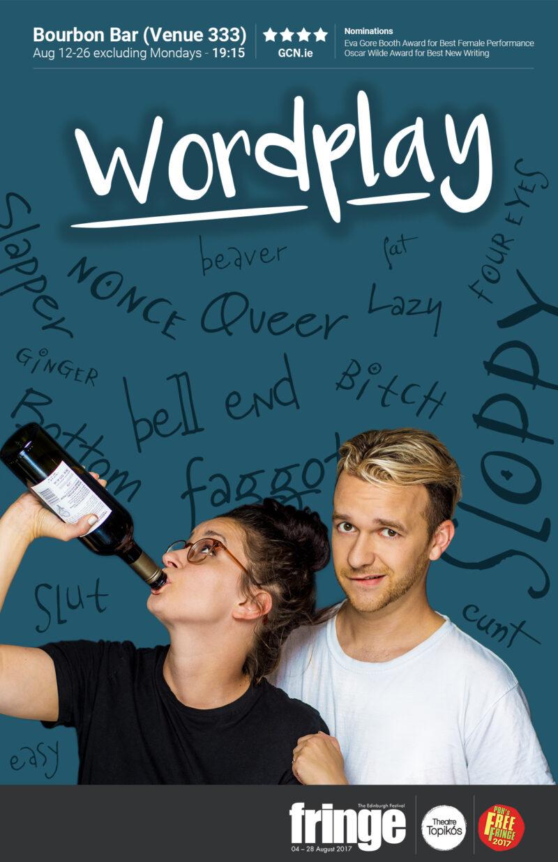 Wordplay Edinburgh Poster