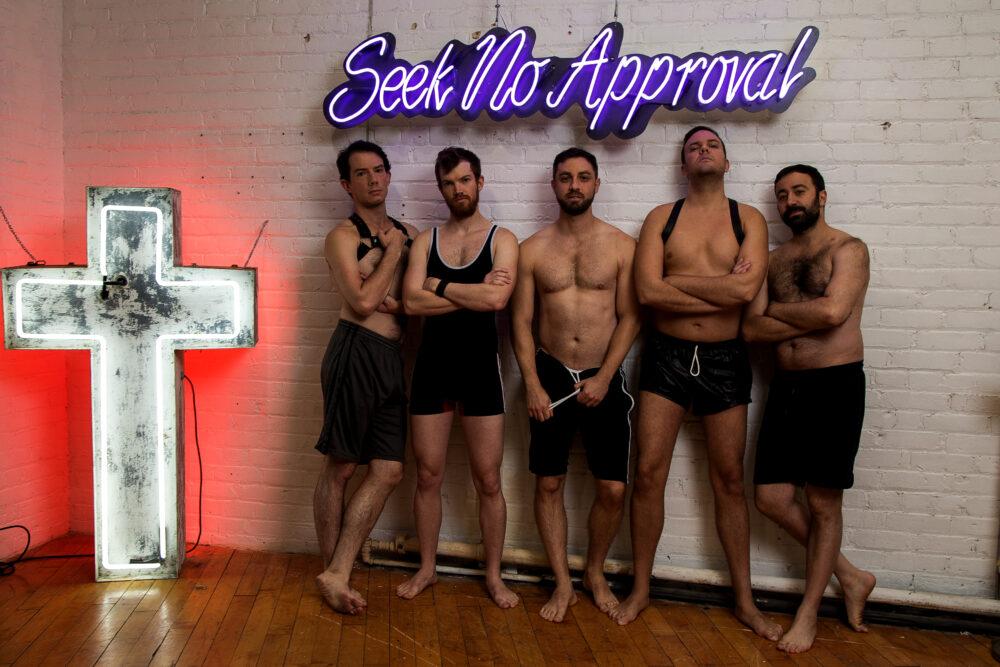 5 Guys Chillin' | Theatre Topikos Toronto