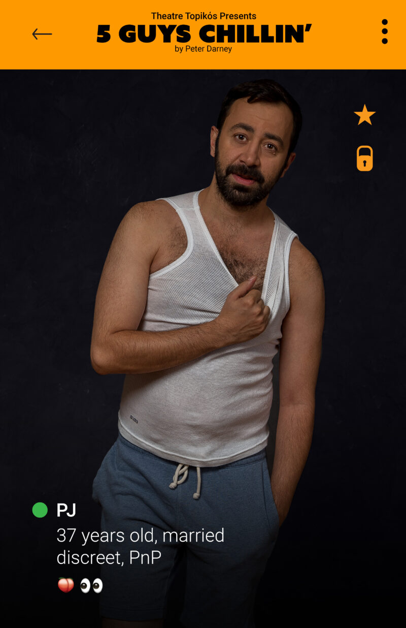 Ahmad as PJ in 5 Guys Chillin