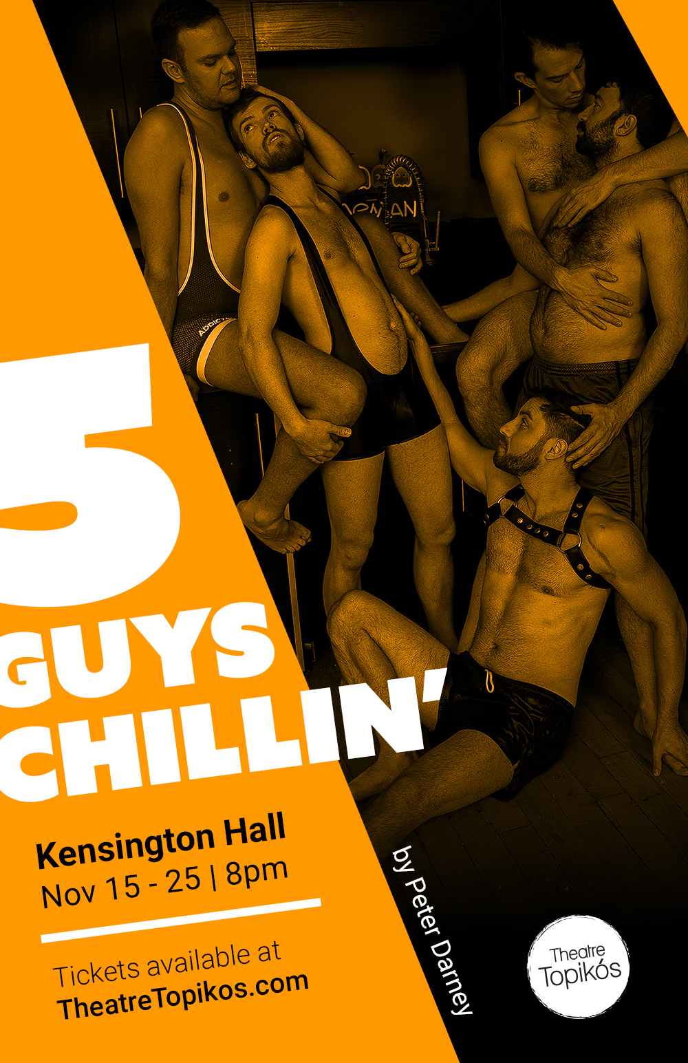 5 Guys Chillin' Poster Toronto