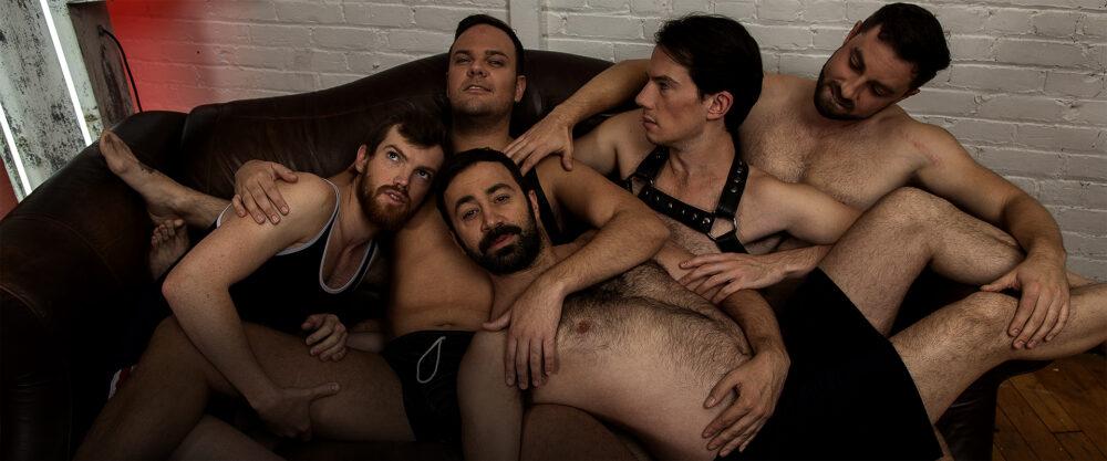 Promo Shot | Cast 5 Guys Chillin