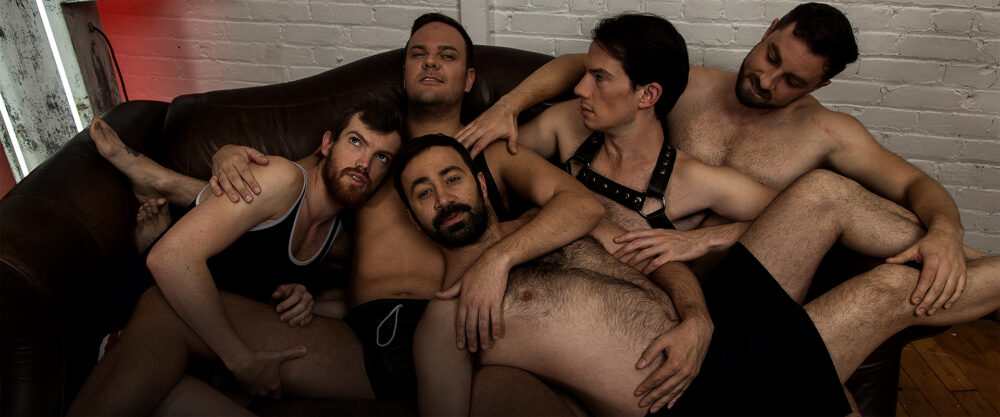 Promo Shot   Cast 5 Guys Chillin