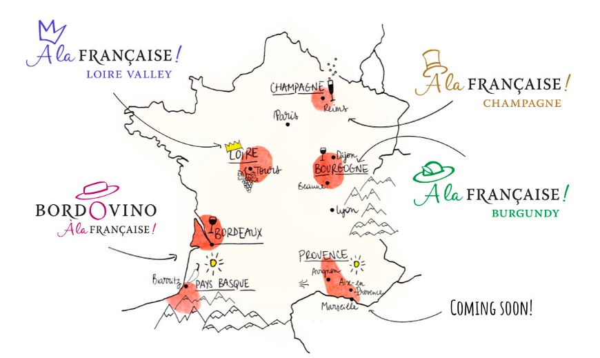 Bordovino Wine Tasting Location Map