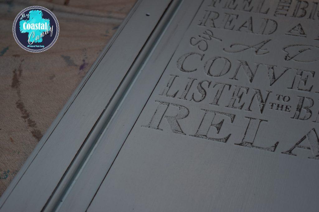 Coastal Candy Raised Stencil