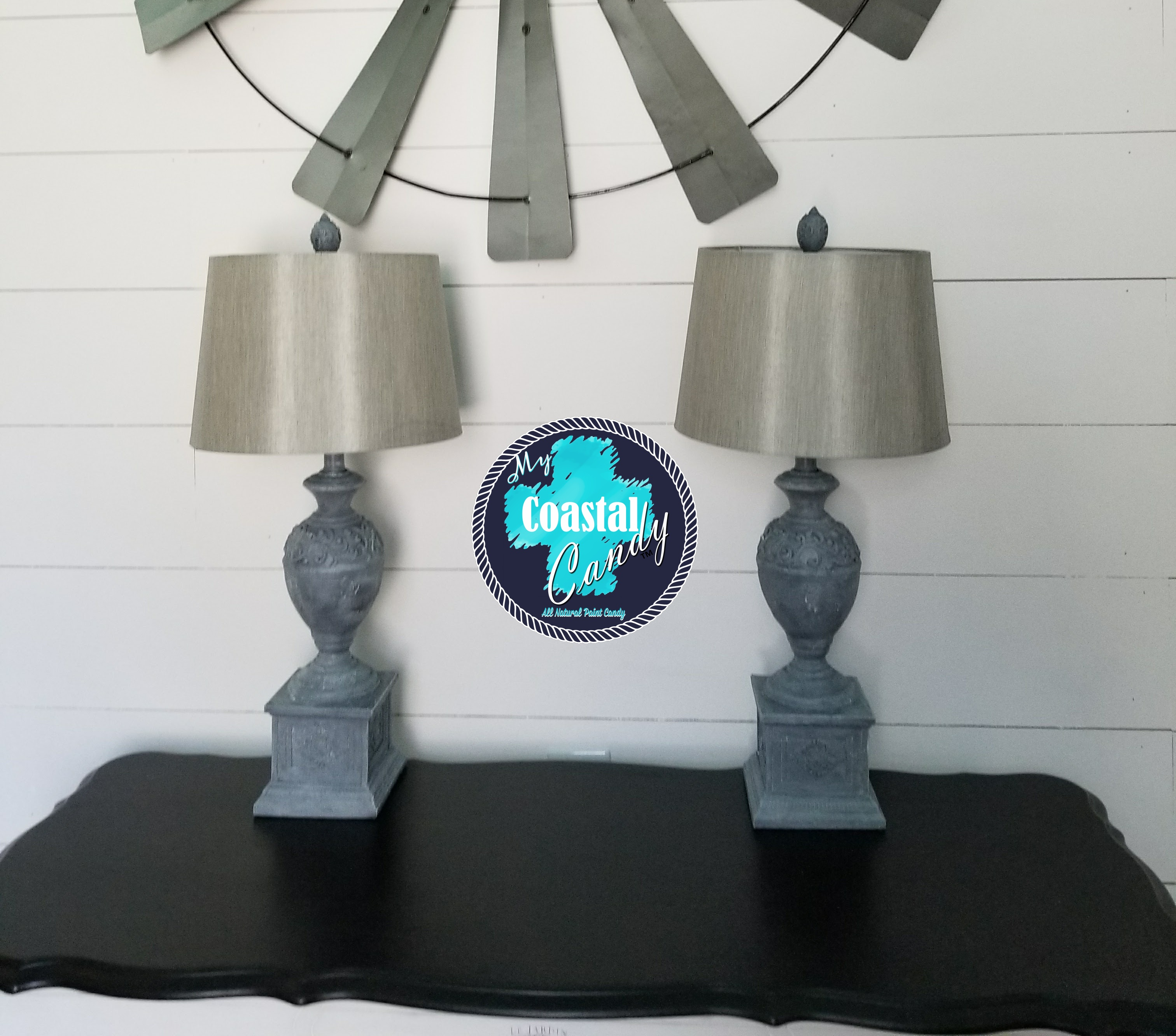 Farmhouse Style Lamp Makeover