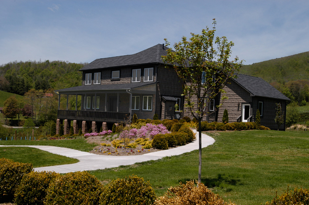 Blue Ridge Mountains and Wine at Banner Elk Winery & Villa