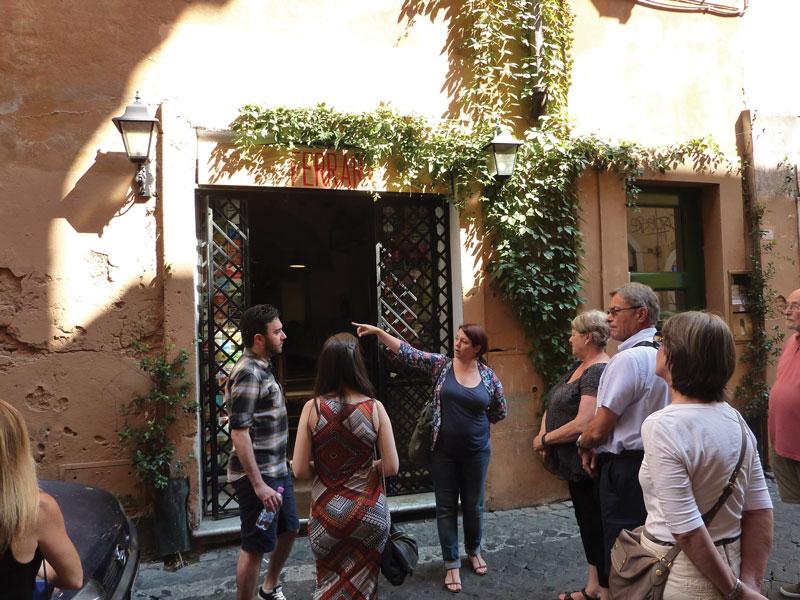 A Food Lover's Dream in Trastevere
