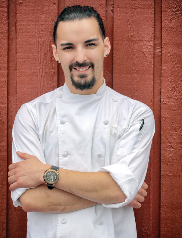 Zachariah Campion of Bailey's Backyard  Farm to Table Restaurant and Catering Company