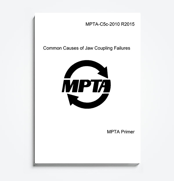 An image of the MPTA Primer C5c- Common Causes of Jaw Coupling Failures