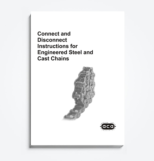 An image of Connect and Disconnect Instructions for Engineer Steel and Cast Chains
