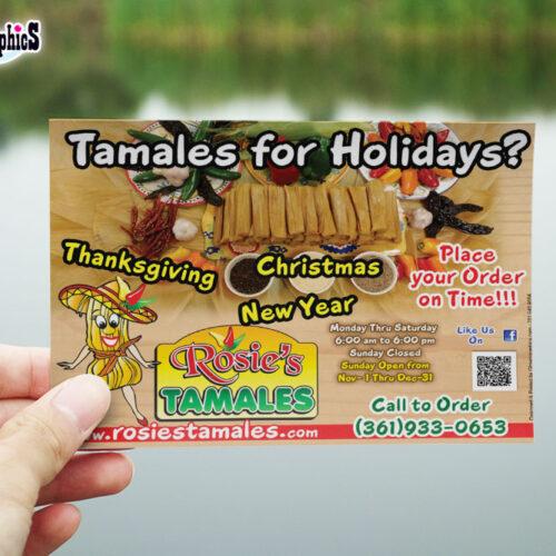 Rosie's Tamales - Corpus Christy , TX