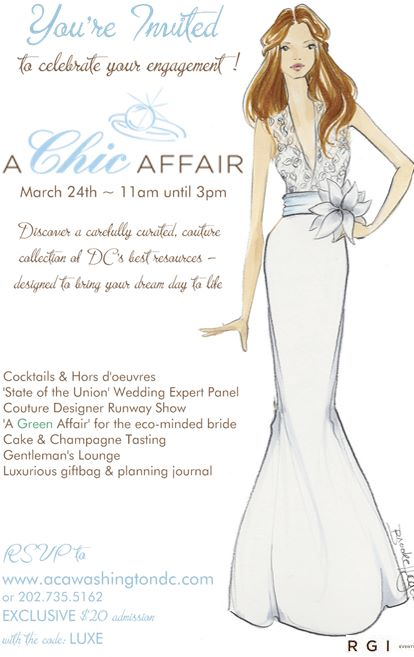 Luxury Bridal Show in Georgetown…March 24th!