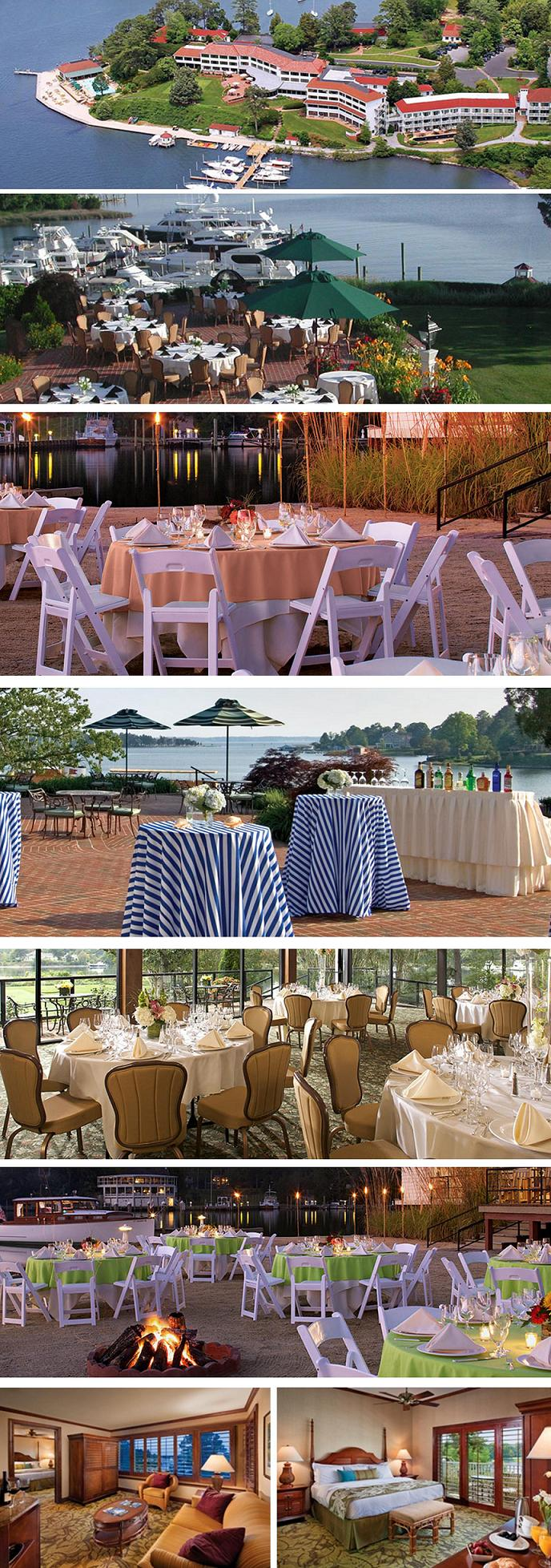 """The Best Locations to Say """"I Do"""" & To Toast to a New Beginning…The Tides Inn"""