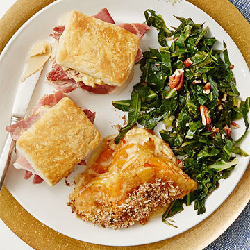 DC Wedding & Event Planner | Welcome to Sunday Brunch | Collard Greens with Toasted Pecans