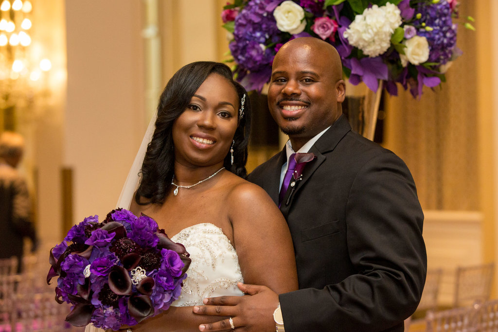 Real Weddings • Tyrone & Sherita • The Mayflower Hotel Autograph Collection
