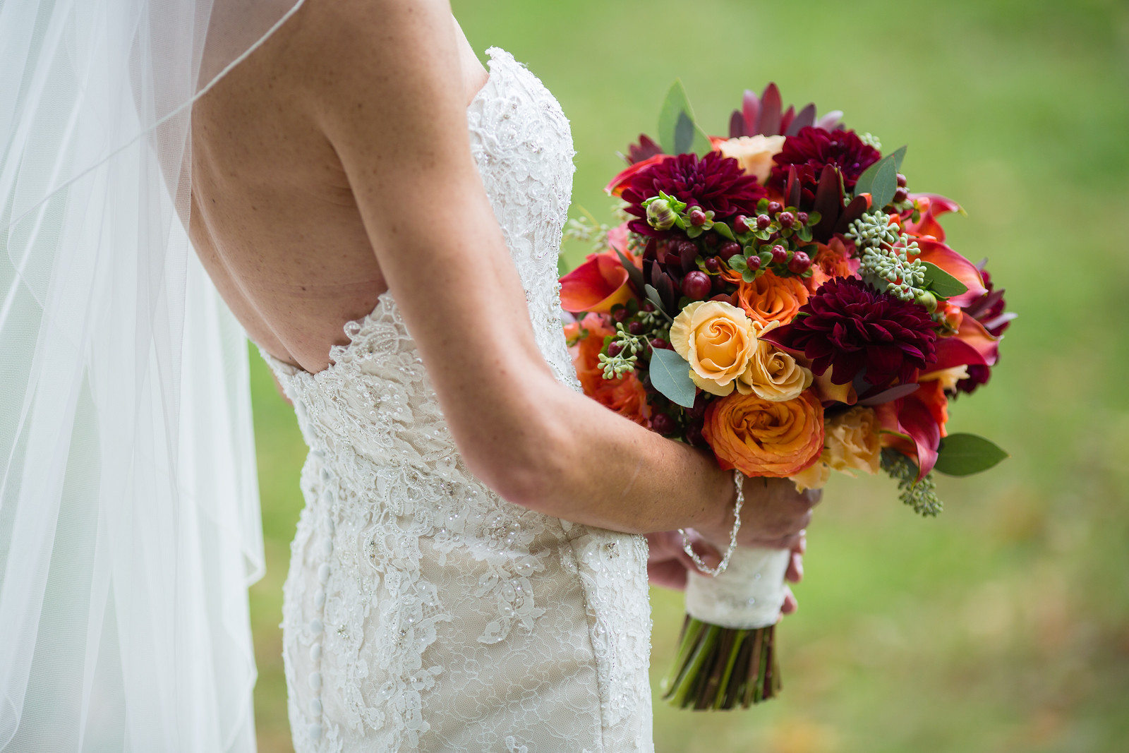 fall wedding wedding bouquets by perfect planning events