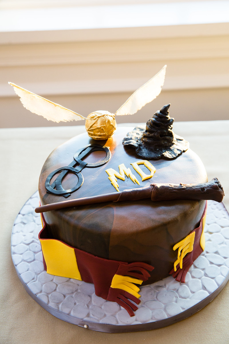 harry potter groom's cake by perfect planning events