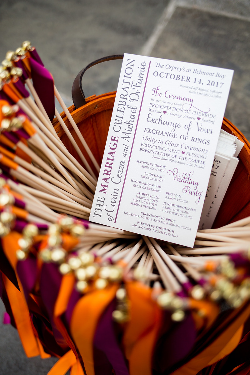 ceremony wedding details by perfect planning events