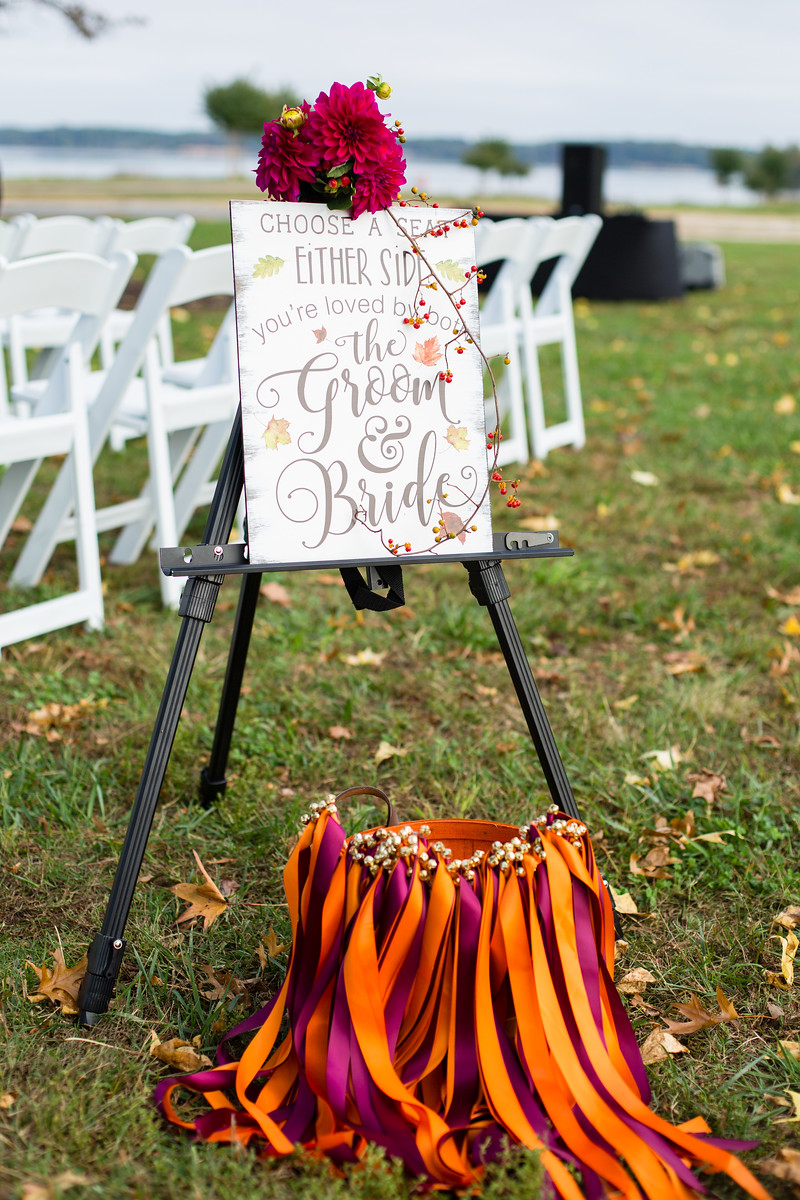 wedding ceremony details fall weddings by perfect planning events