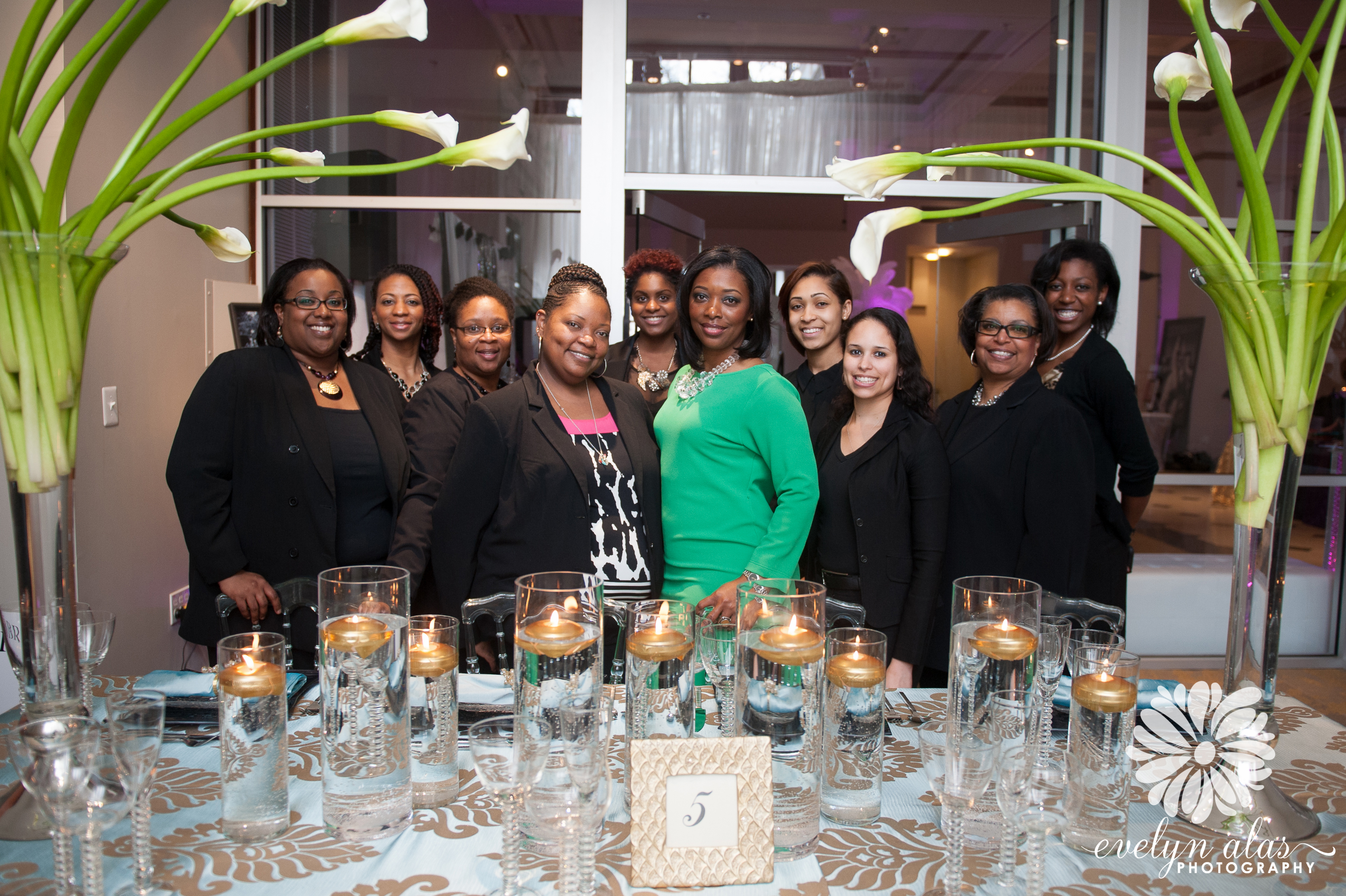 Perfect Planning Events team at Black Bride Brunch 2014
