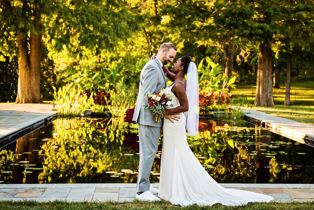 Vibrant Fall Wedding | Belmont Manor & Historic Park | Eric & Shakétta