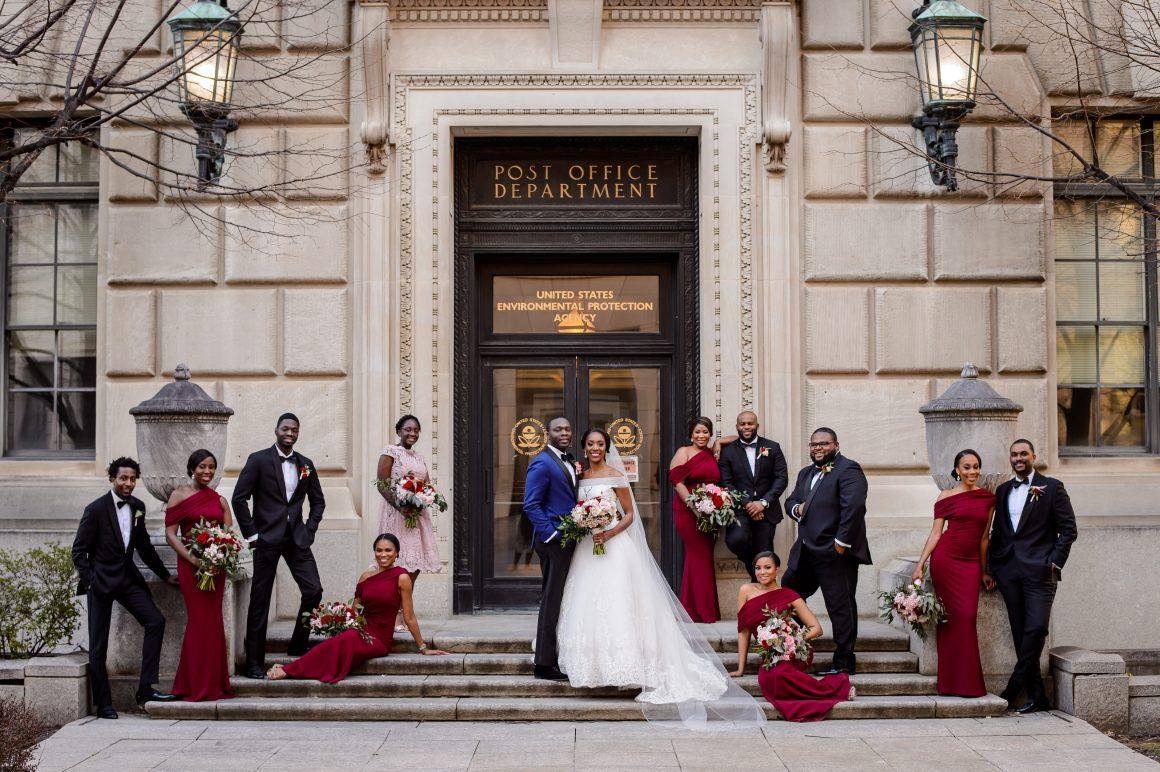 Real Weddings | Tolu & Emerald | Modern Luxury Weddings Washington DC