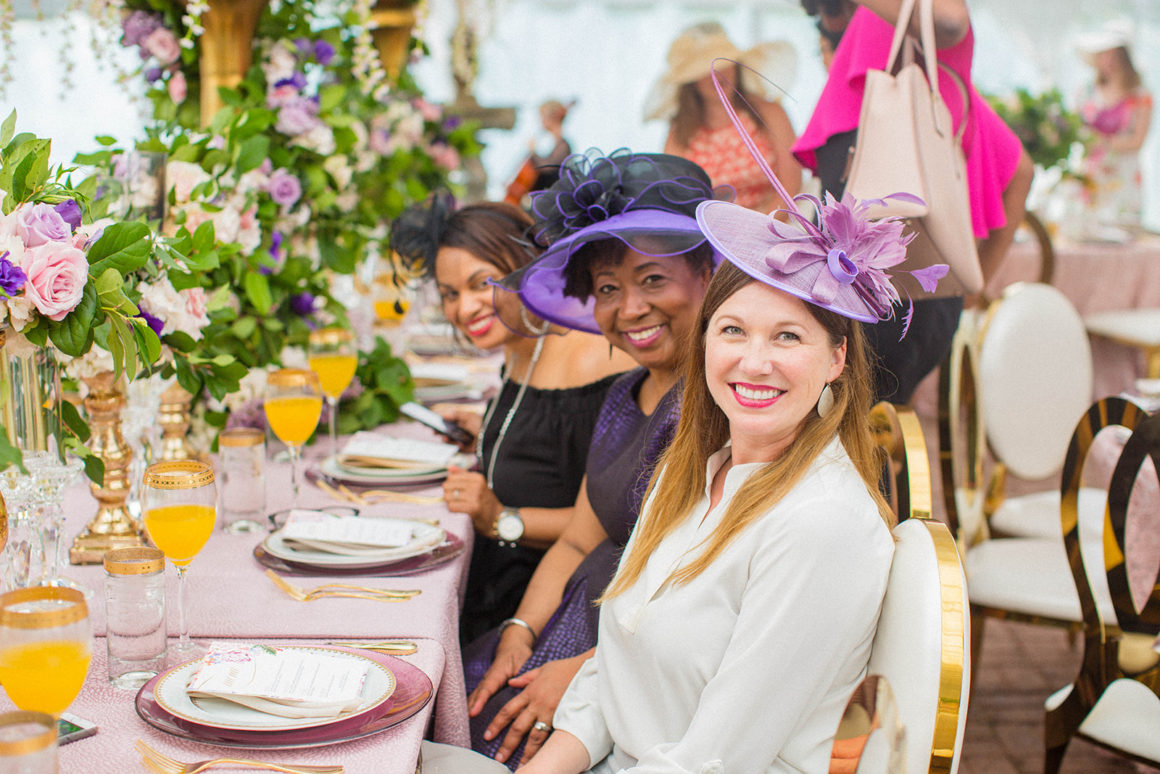 Fashionable Windsor Royal Tea Party for DC Wedding Planners