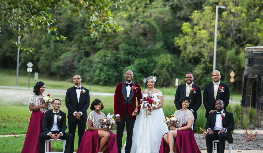 Harlem Renaissance-Inspired Fall Wedding with Modern Luxe Elegance | David & Sophia