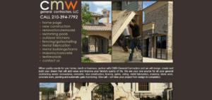 CMW General Contractors Old Website