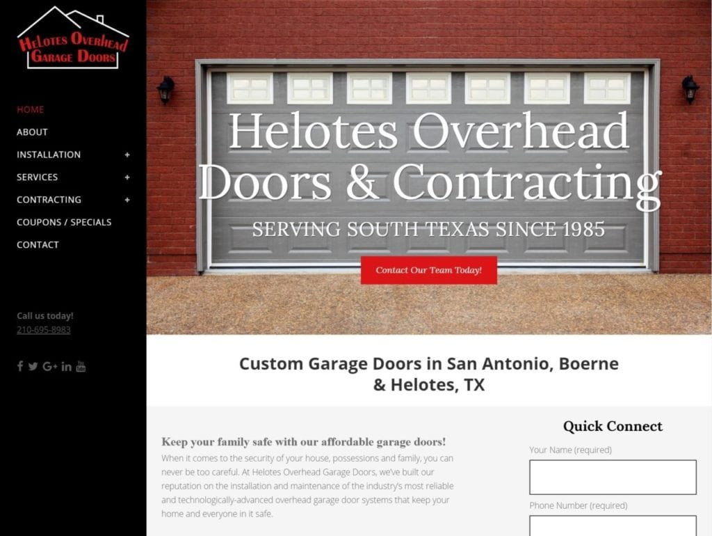 San Antonio Website Builder