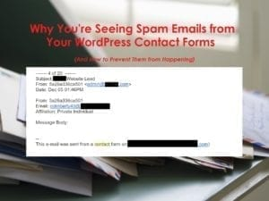 Prevent Email Spam Website San Antonio