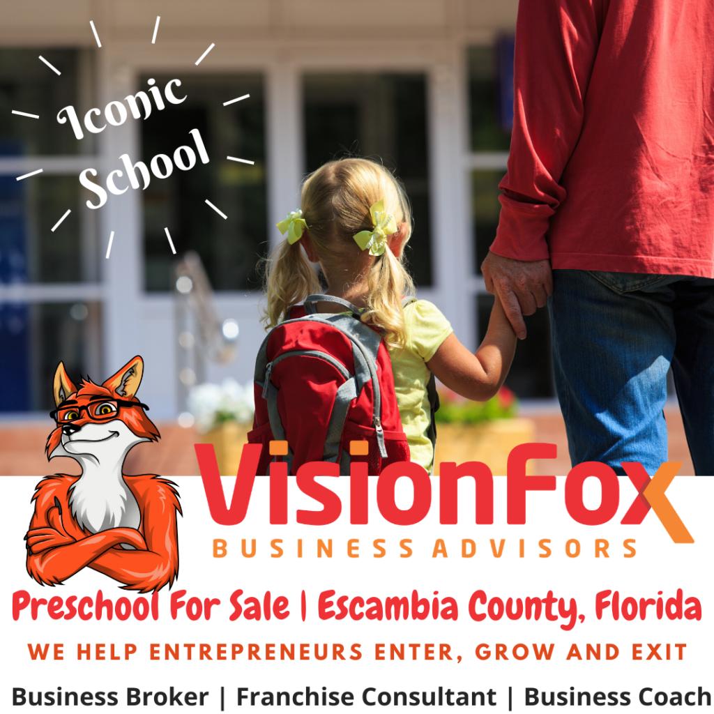 Iconic Preschool For Sale _ Escambia County Florida