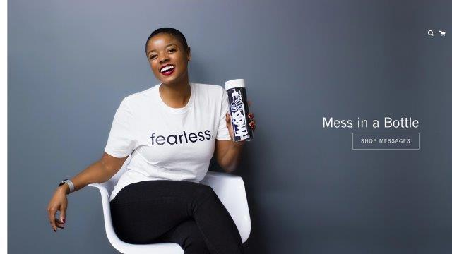 Black-Owned Business: Mess In a Bottle