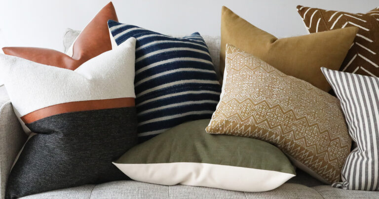 Pillow Cover Sizing Guide