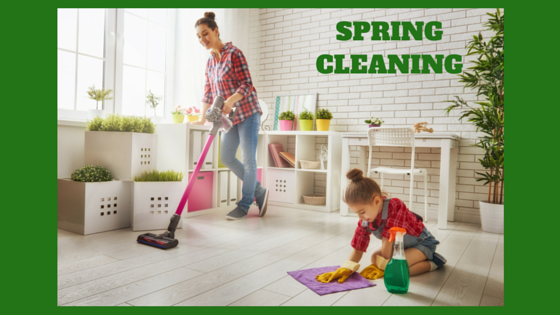 It's the Most Wonderful Time of the Year – Spring Cleaning Time!
