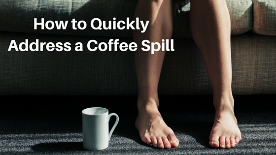 How to Quickly Address a Coffee Spill