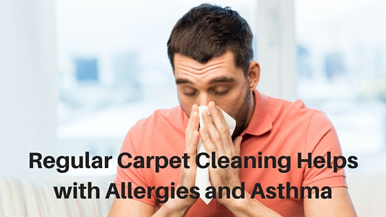 Regular Carpet Cleaning Helps with Allergies and Asthma