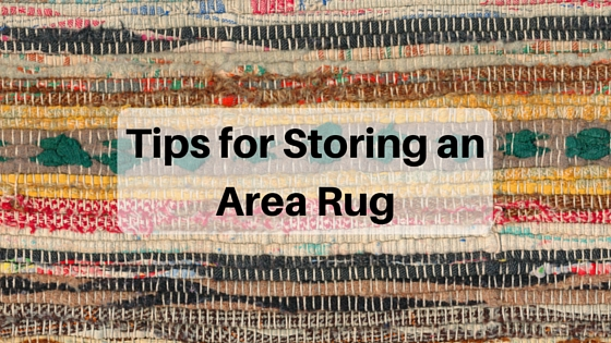 Tips for Storing an Area Rug